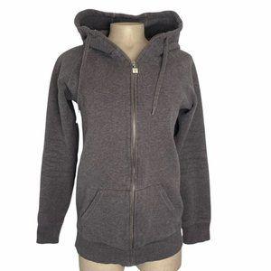 TNA Aritzia Women's Gray Full Zip Hoodie Sweater Size Medium Good Condition